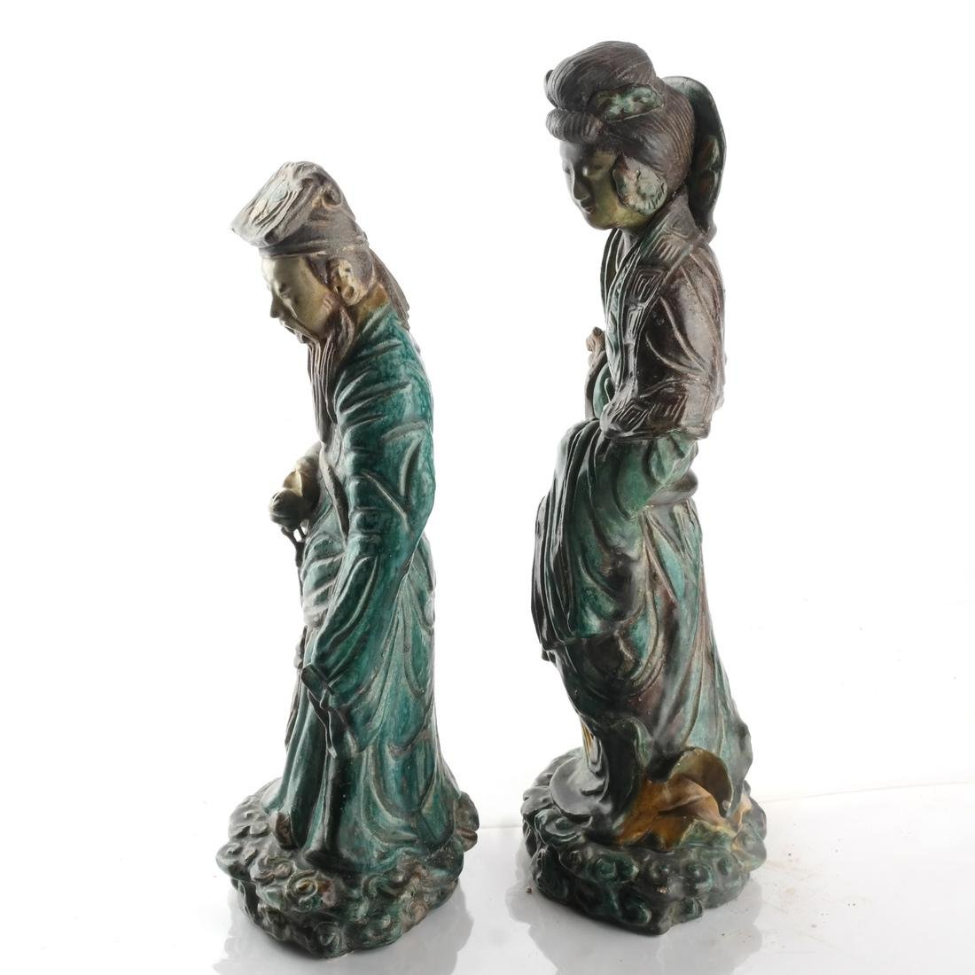 Two Chinese Qing Dynasty Figures - 2