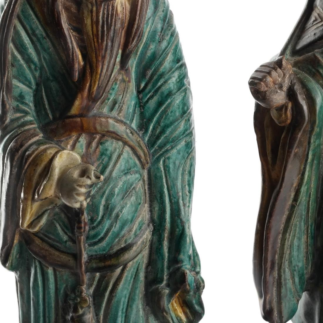 Two Chinese Qing Dynasty Figures - 6