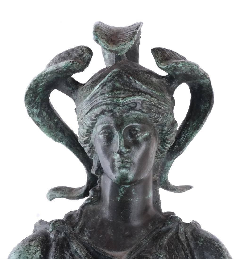 Bronze Allegorical Figure of Athena & Nike - 2