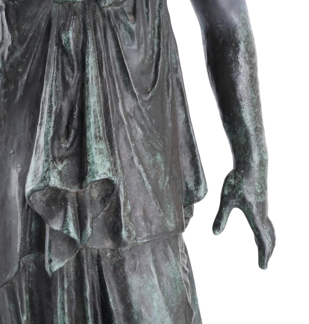 Bronze Allegorical Figure of Athena & Nike - 4