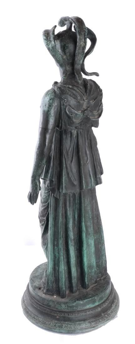 Bronze Allegorical Figure of Athena & Nike - 5