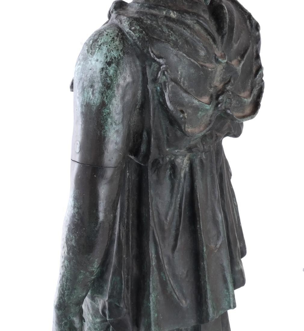 Bronze Allegorical Figure of Athena & Nike - 6