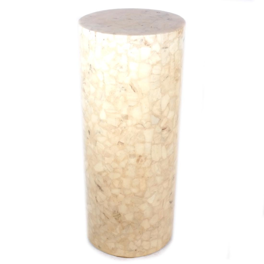Tessellated-Style Column-Form Pedestal