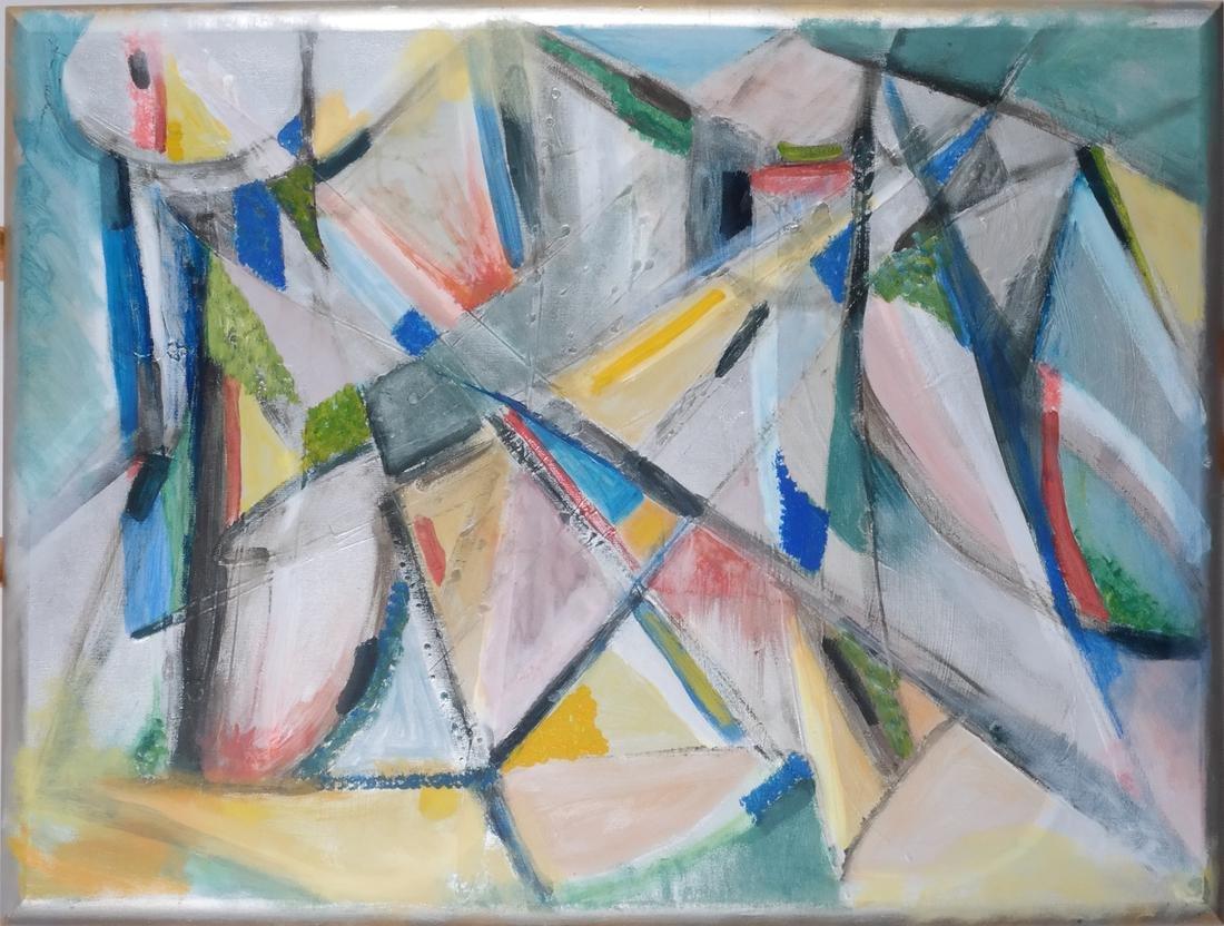 Ann Zuckerman: Abstract Oil on Canvas - 2