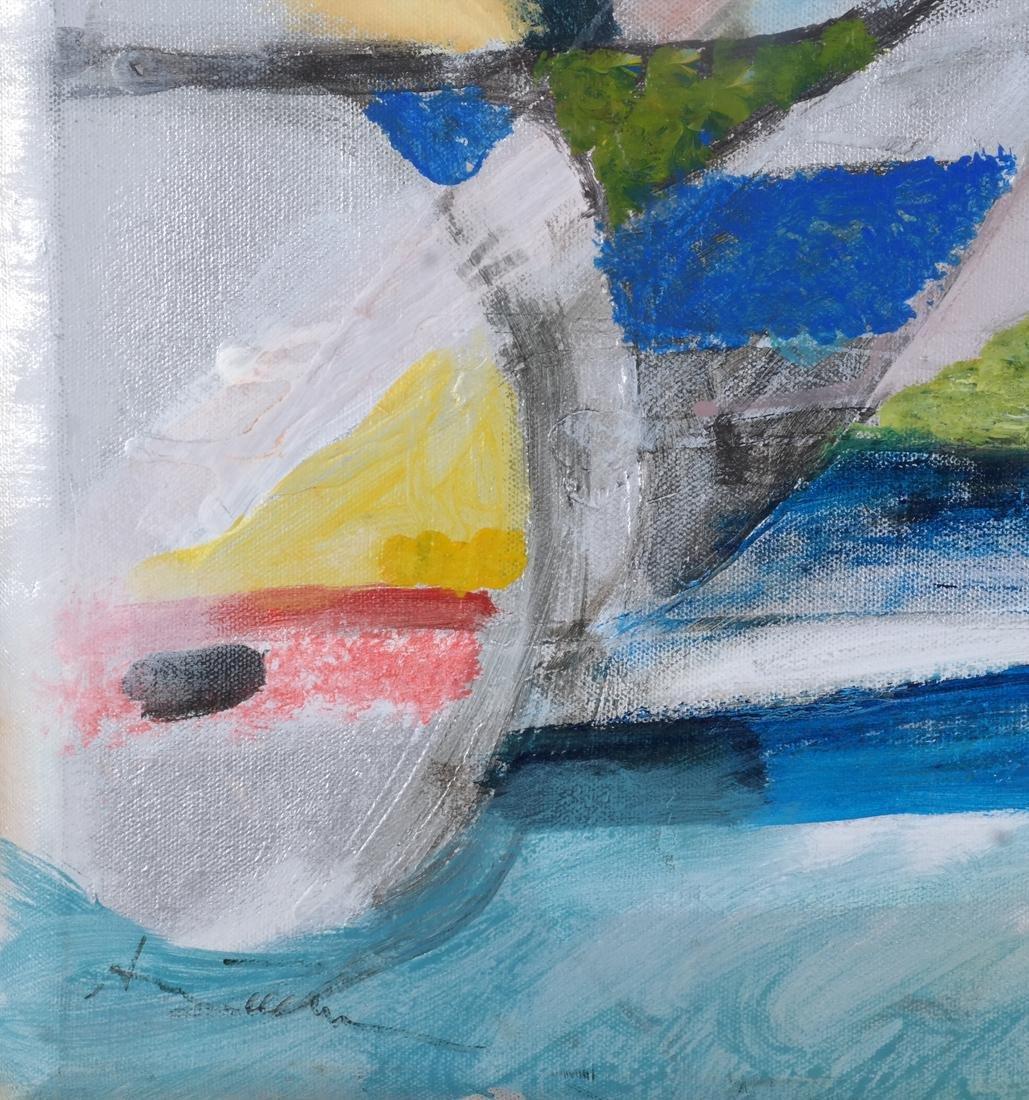 Ann Zuckerman: Abstract Oil on Canvas - 3