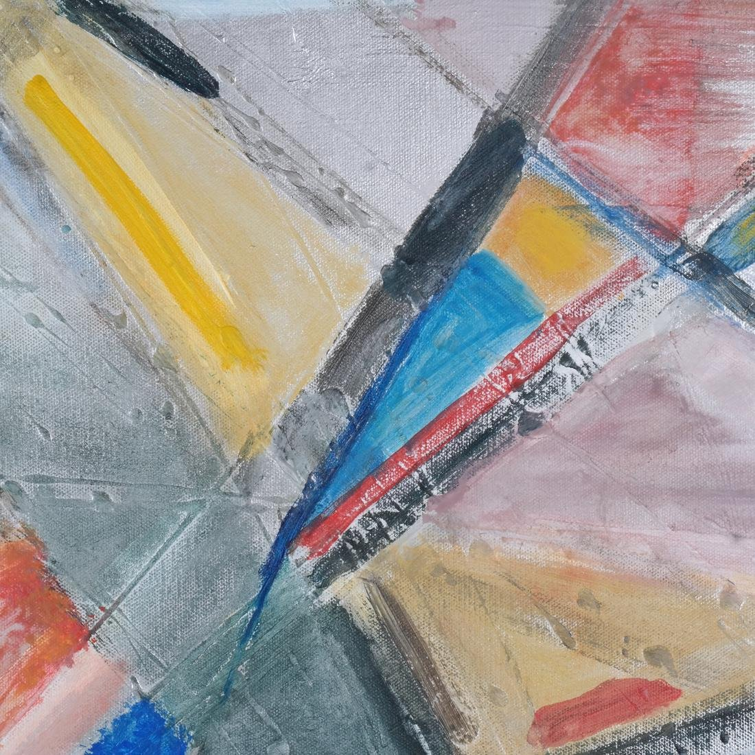 Ann Zuckerman: Abstract Oil on Canvas - 4