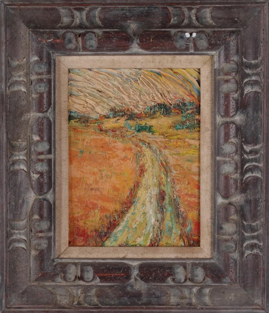 Lester Marcus: Landscape, Acrylic