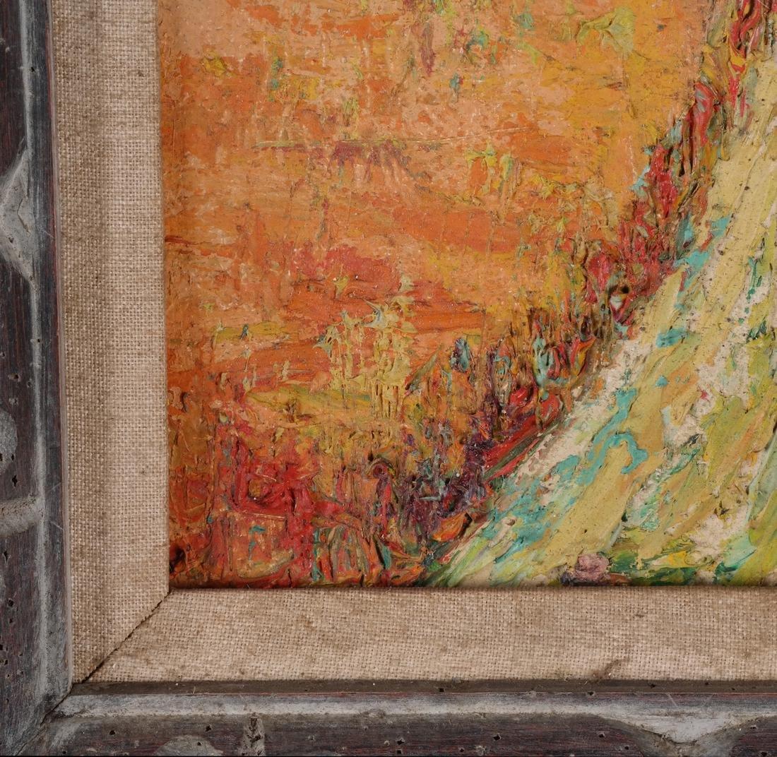Lester Marcus: Landscape, Acrylic - 3
