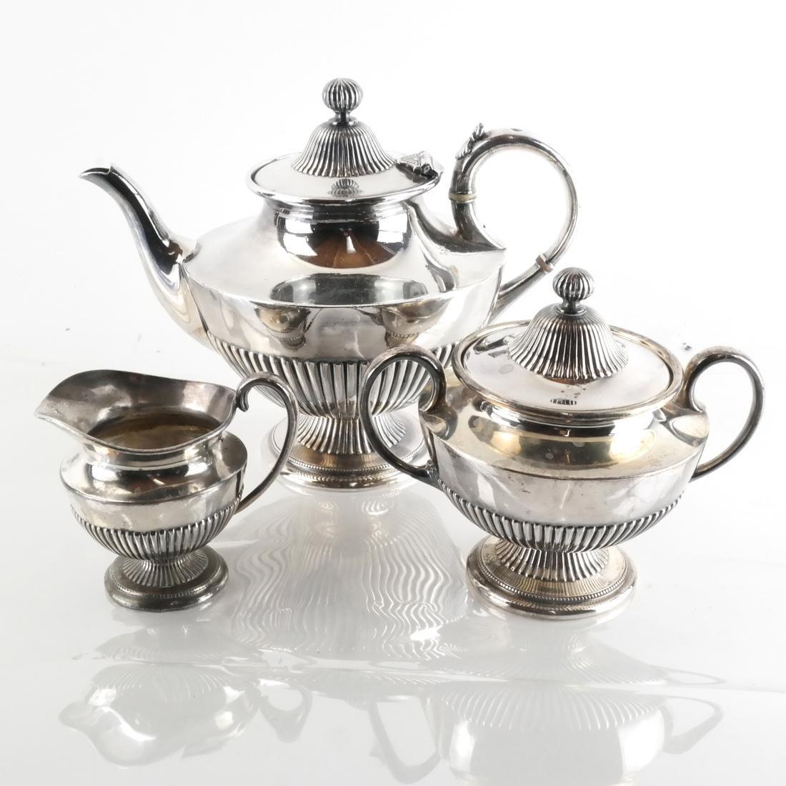 James Dixon & Sons, Silver Plate Tea Service