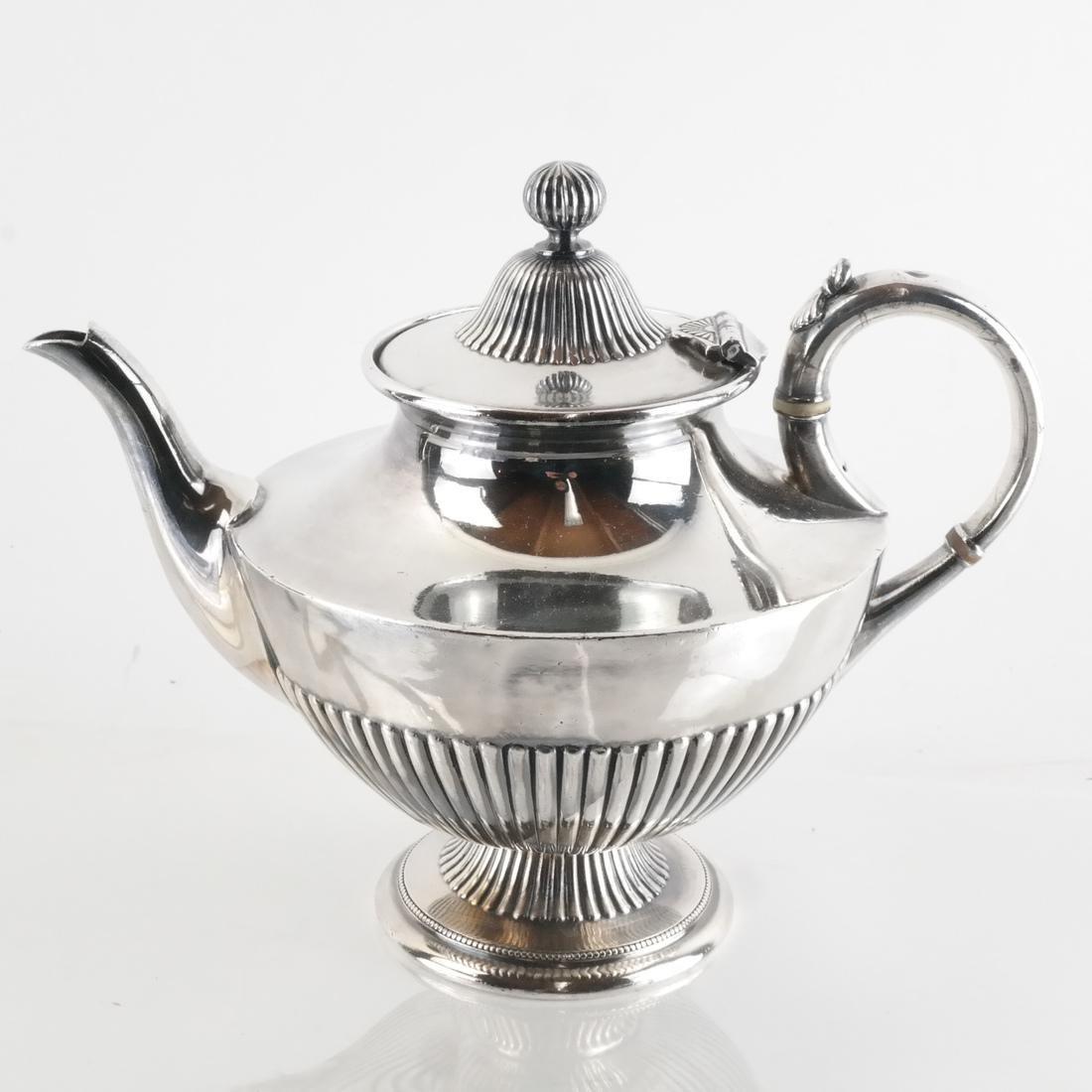 James Dixon & Sons, Silver Plate Tea Service - 2