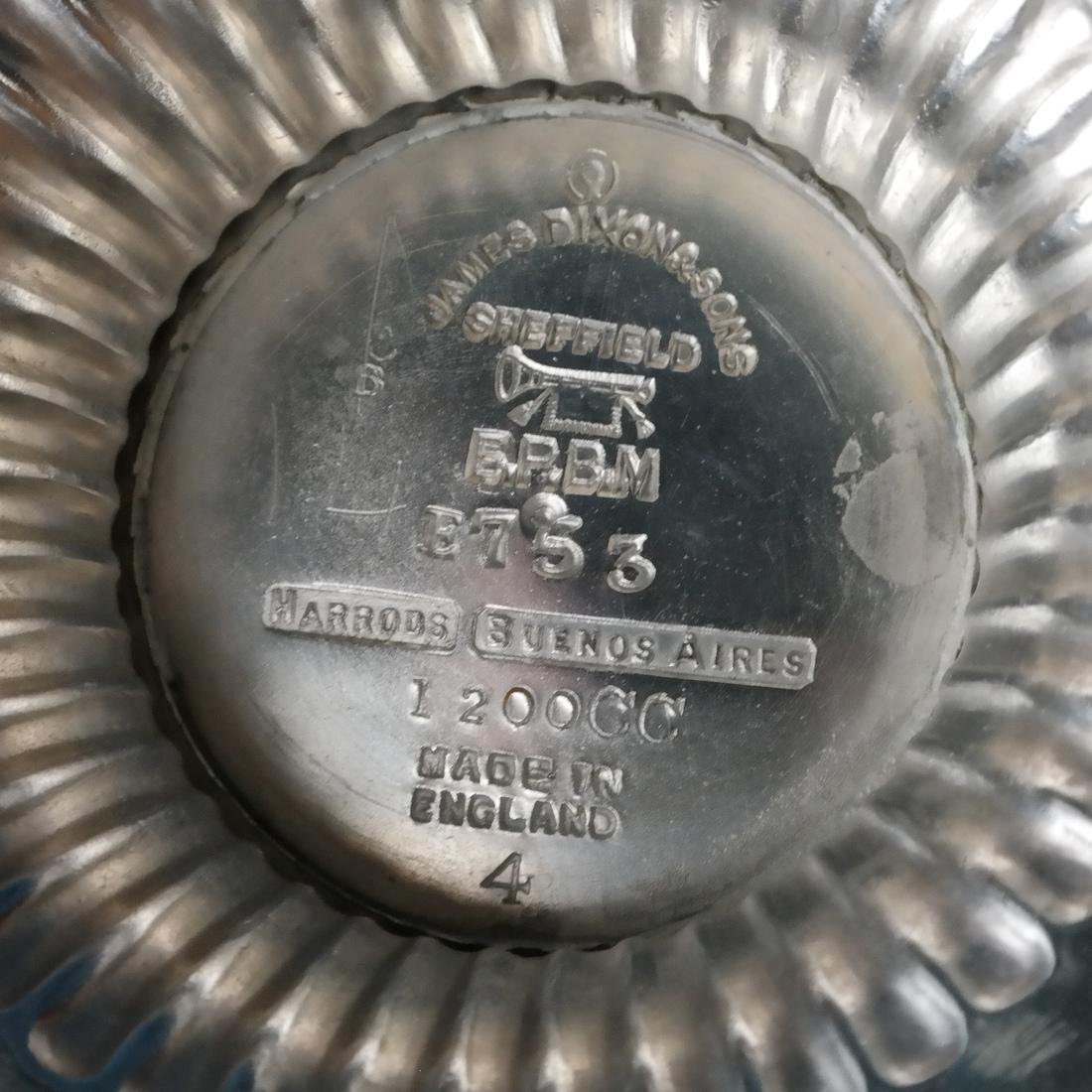 James Dixon & Sons, Silver Plate Tea Service - 4