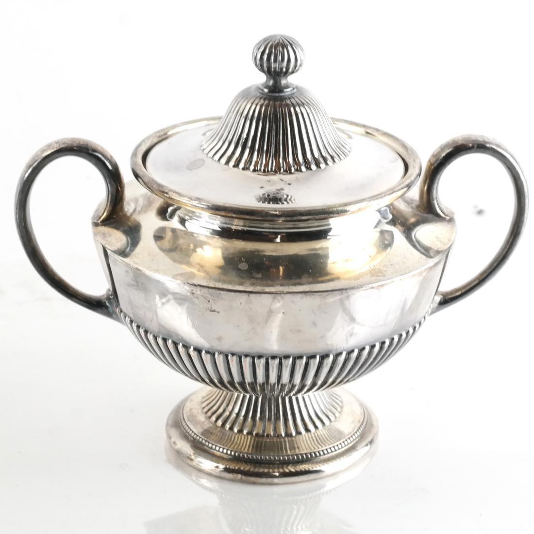 James Dixon & Sons, Silver Plate Tea Service - 5