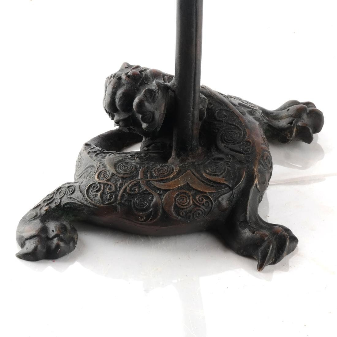 Chinese Bronze Incense Burner - 3