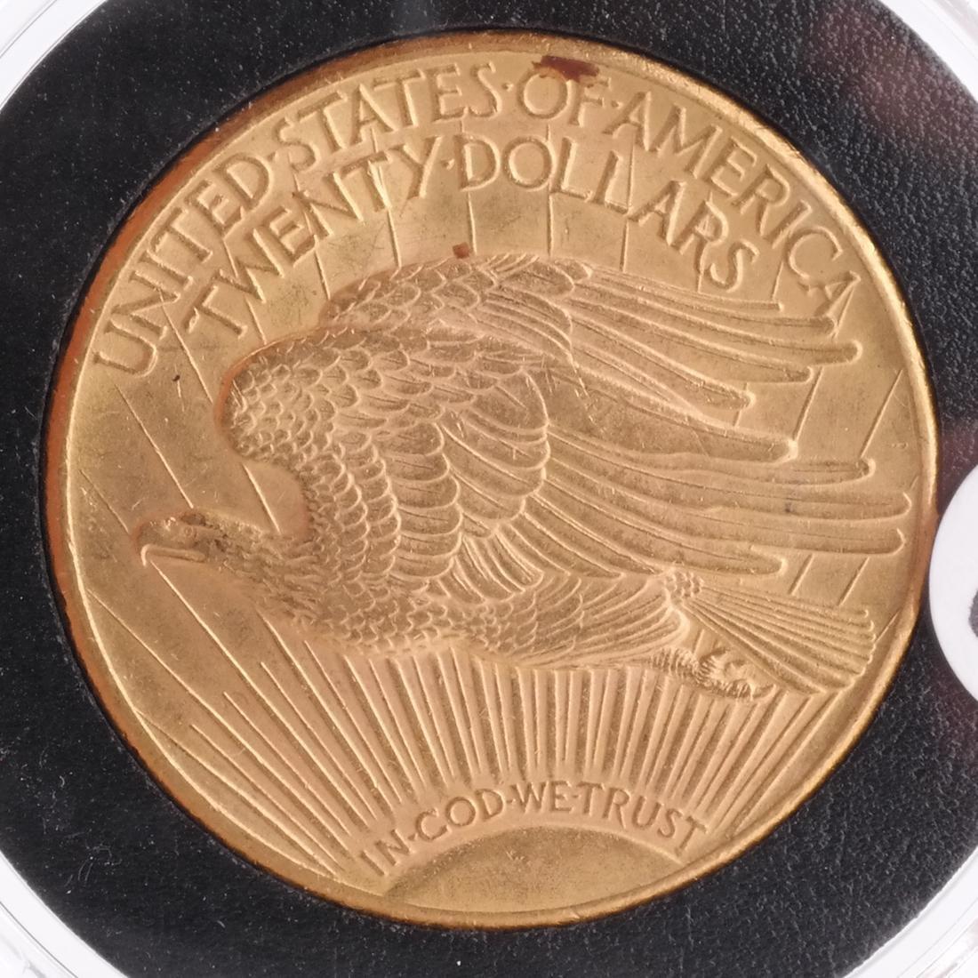 1924 $20 Gold Saint Gaudens, MS 64 - 2