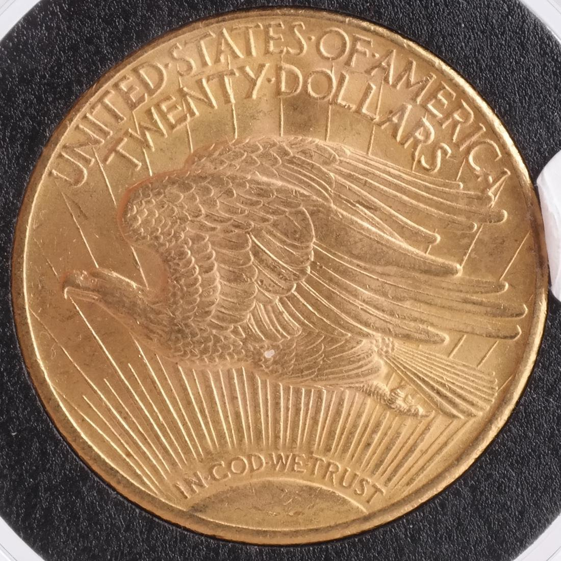 1924 $20 Gold Saint Gaudens, MS 65 - 2