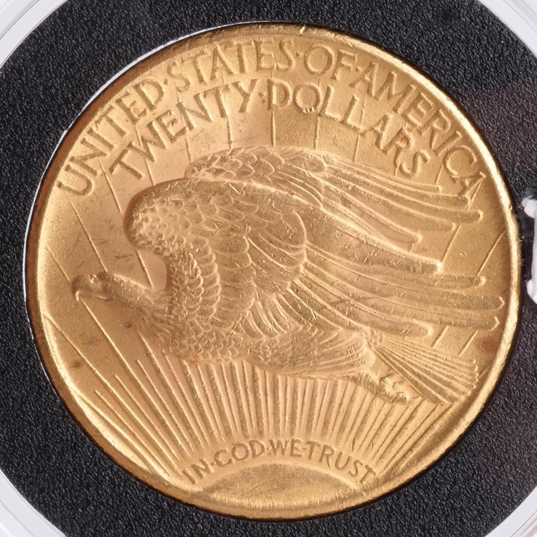 1925 $20 Gold Saint Gaudens, MS 64 - 2