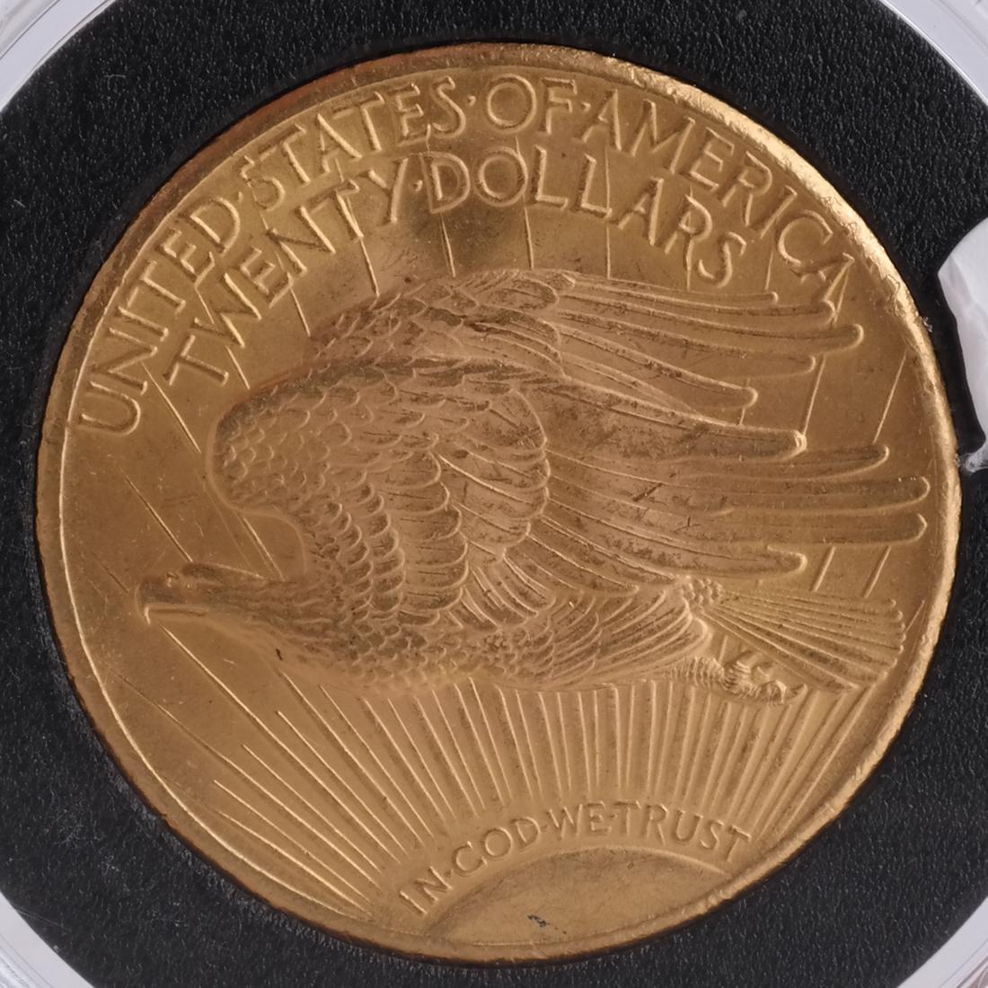 1928 $20 Gold Saint Gaudens, MS 64