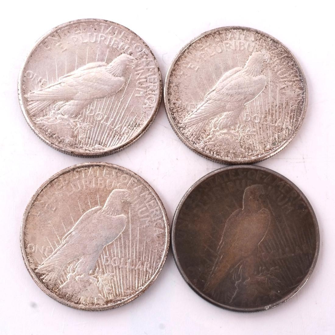 7 Peace Dollars - 3
