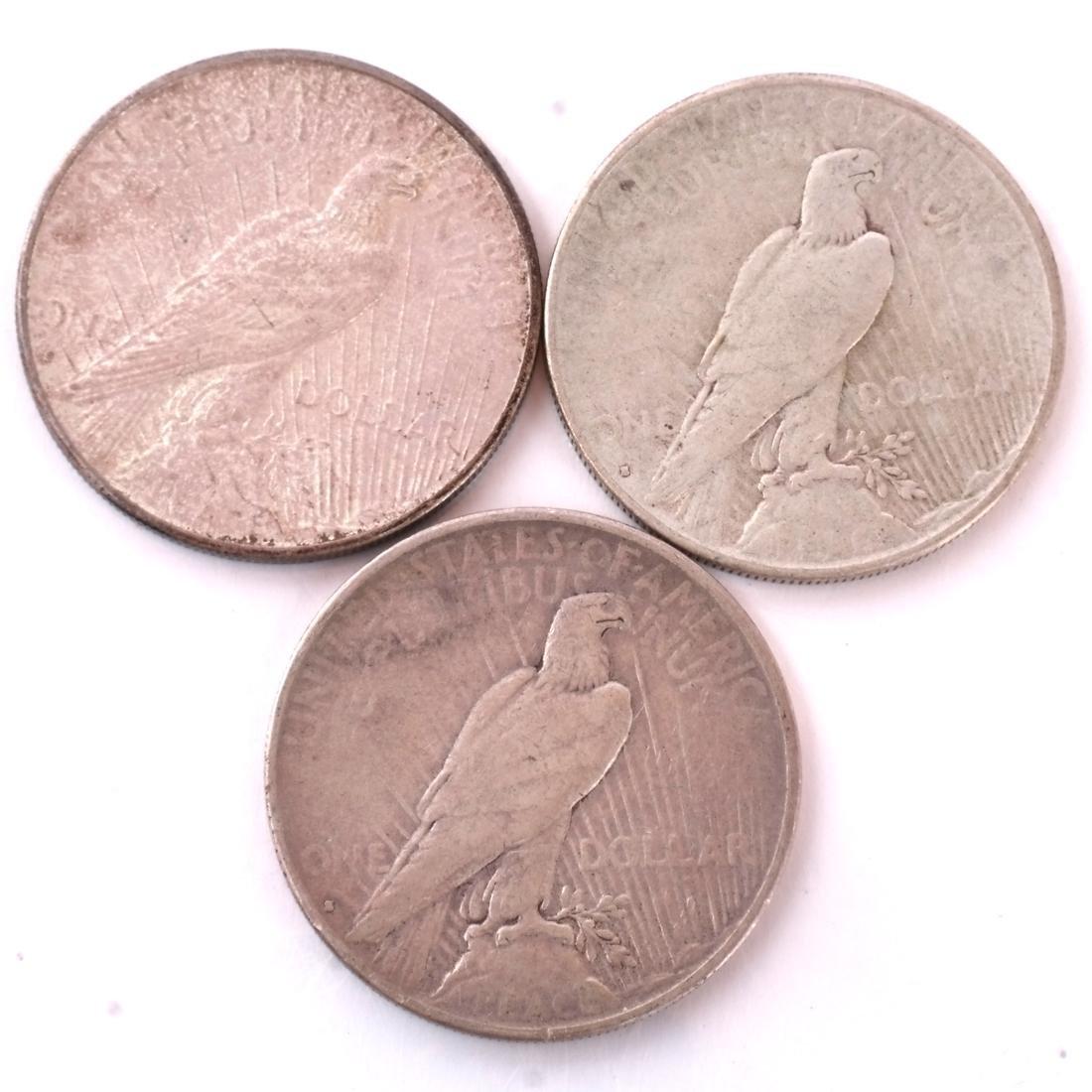 7 Peace Dollars - 5
