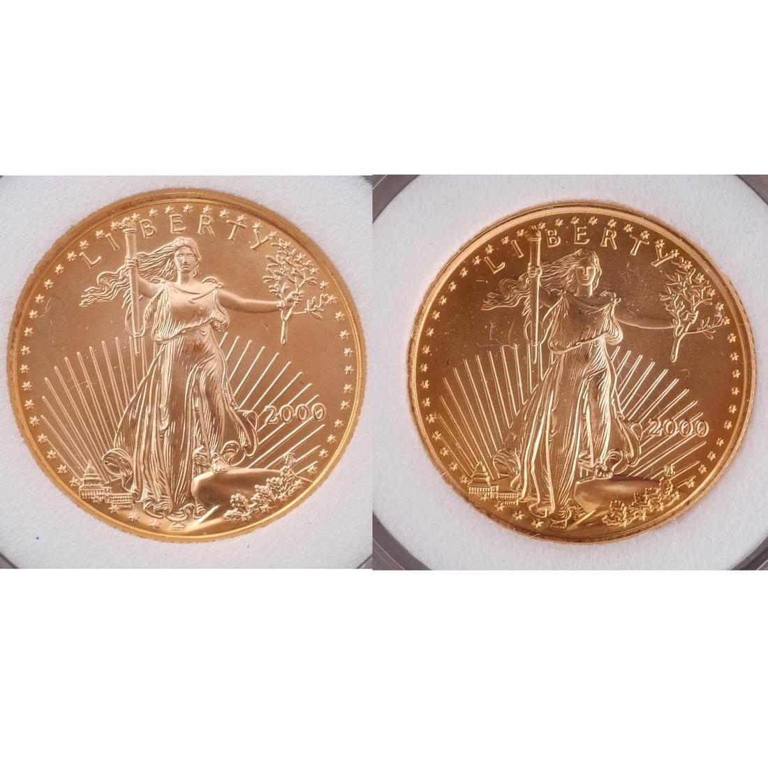 2 Gold Eagles