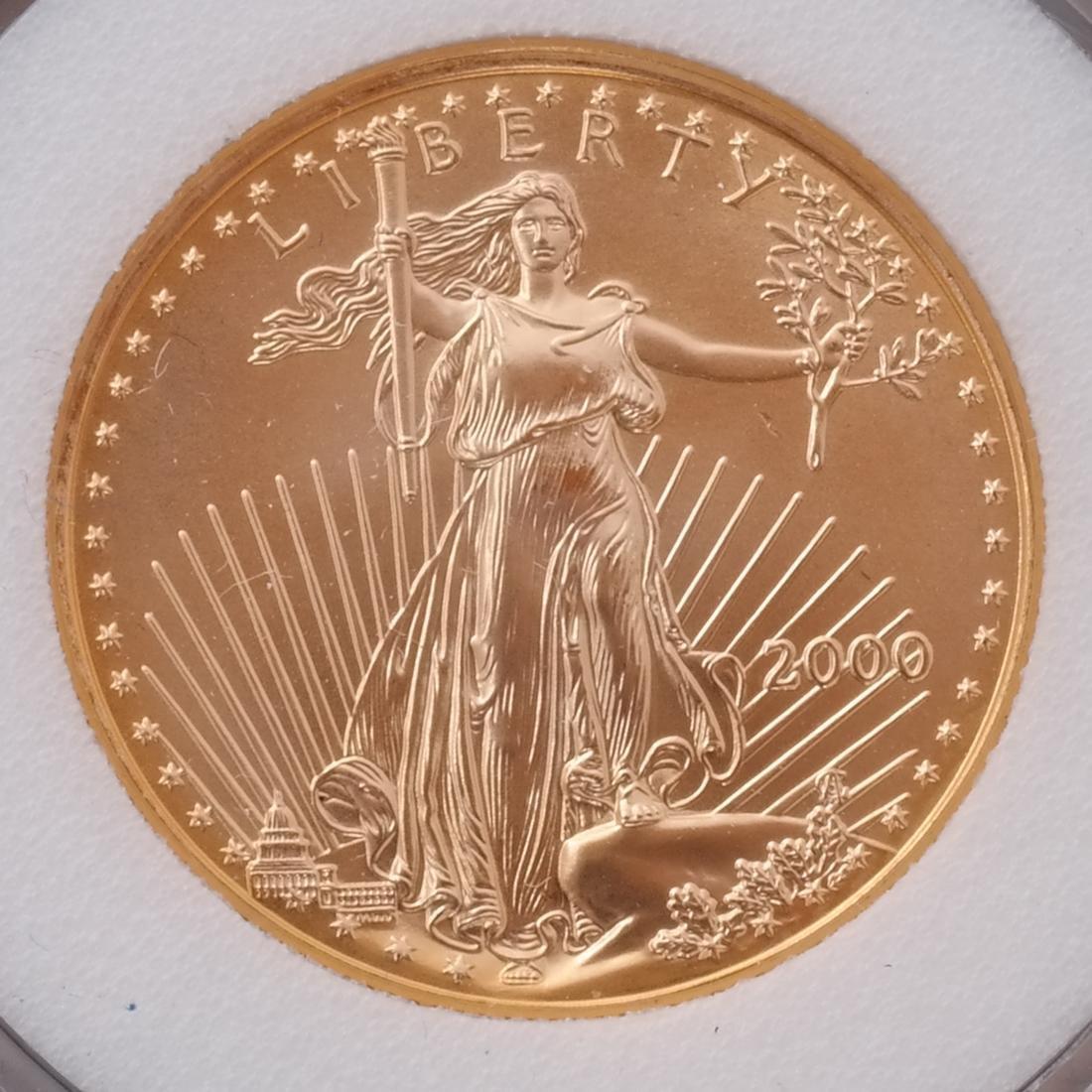 2 Gold Eagles - 2