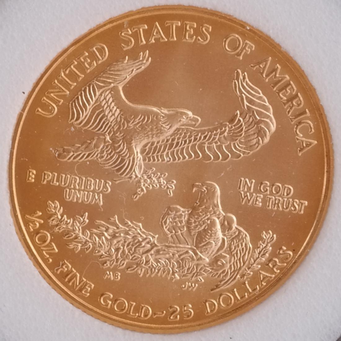 2 Gold Eagles - 3