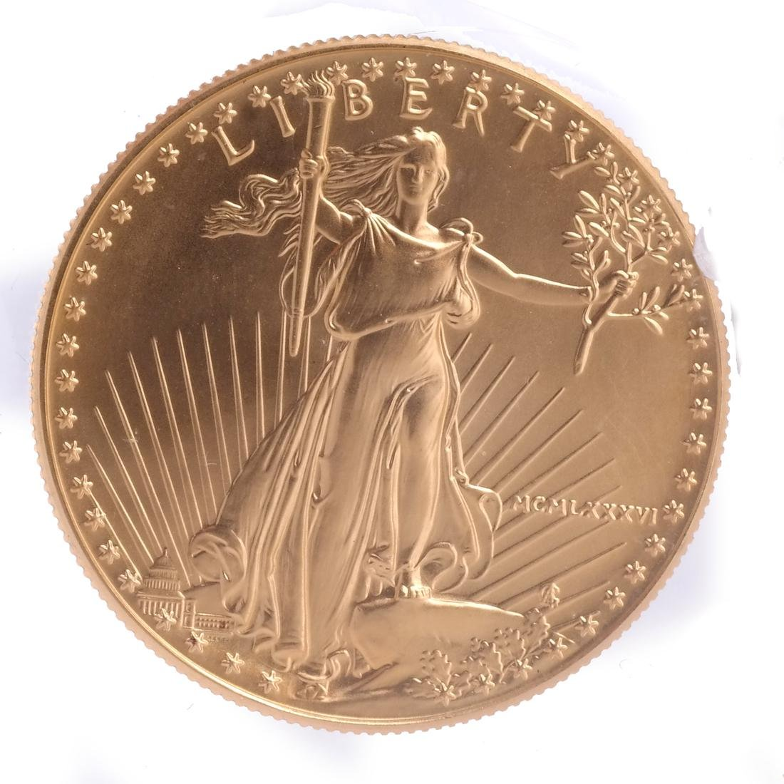 1986 Gold Eagle One-Ounce