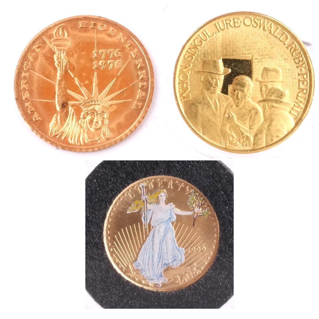 1999 Gold Eagle, Bicentennial, Kennedy