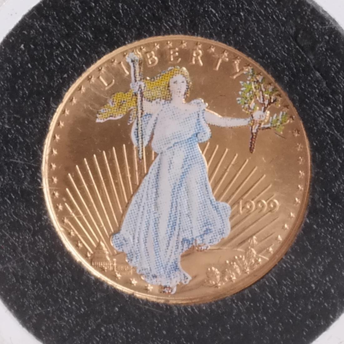 1999 Gold Eagle, Bicentennial, Kennedy - 6