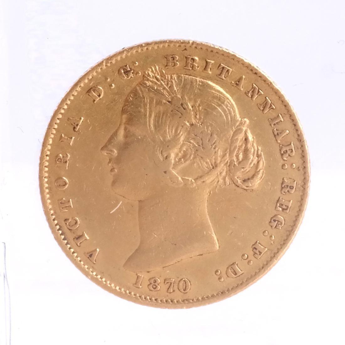 2 Gold, 10 Corona Austria, 1 Australia - 2