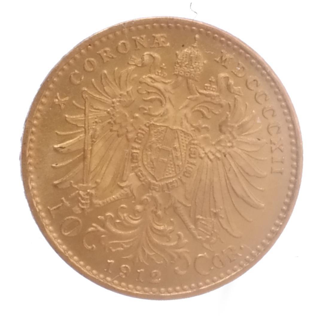 2 Gold, 10 Corona Austria, 1 Australia - 5