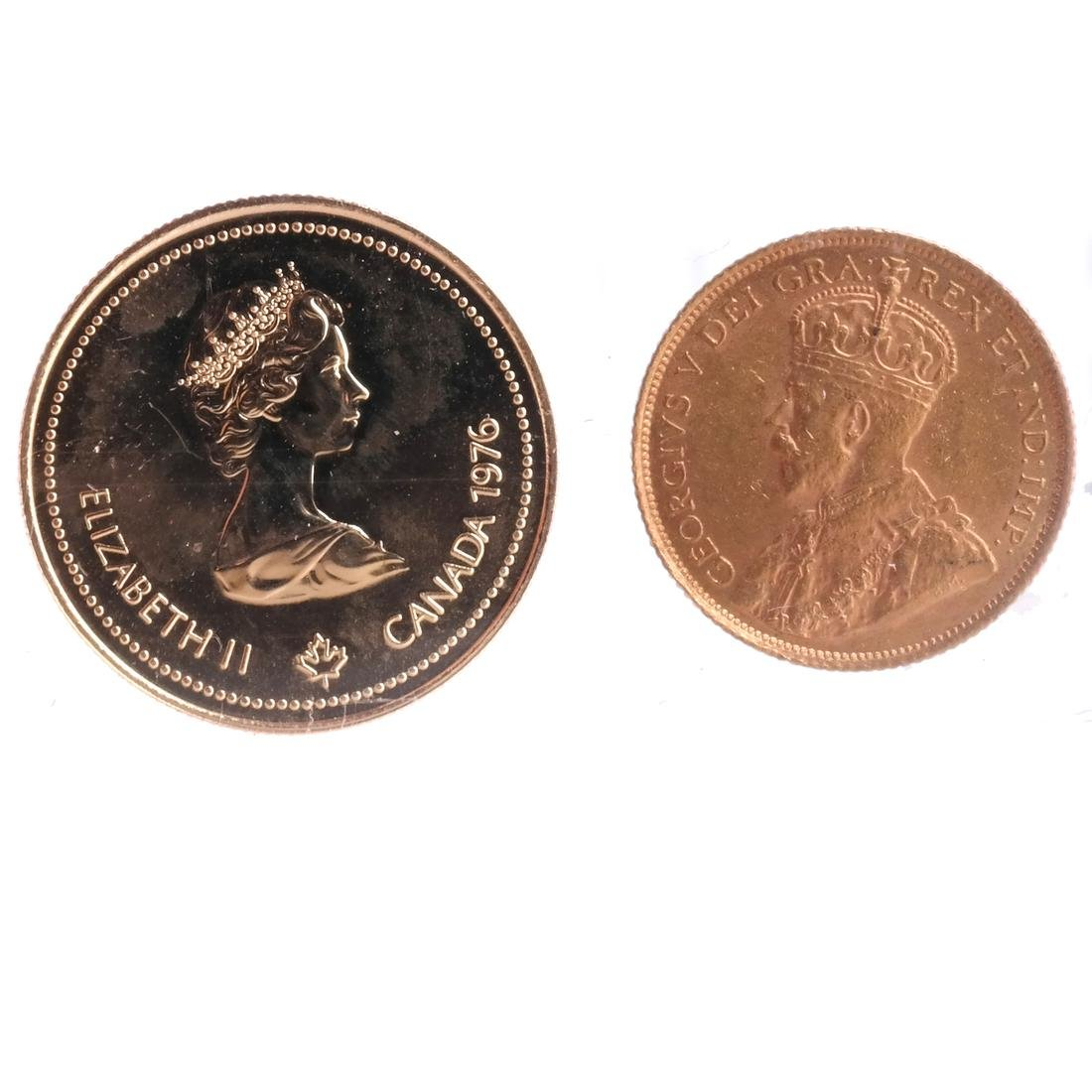 2 Canada Gold Coins