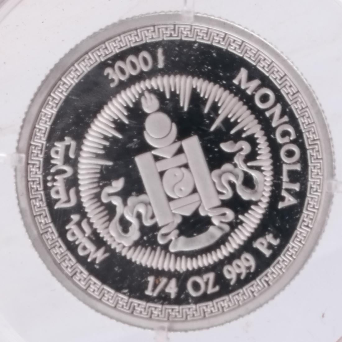 4 China Gold & Platinum Coin Sets - 6