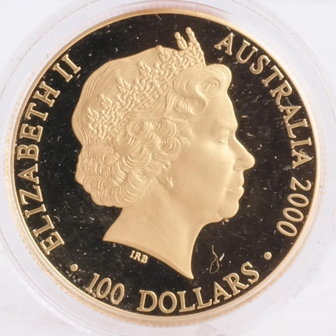 1998 1/2 Sovereign, Australian $100 - 3