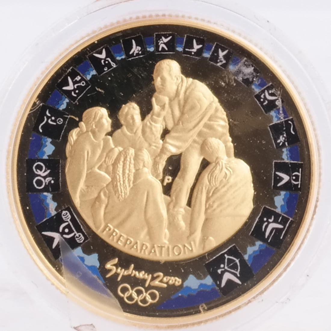 1998 1/2 Sovereign, Australian $100 - 4