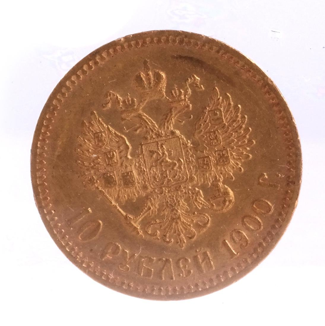 Russian 10-Ruble Gold, 1900 - 2