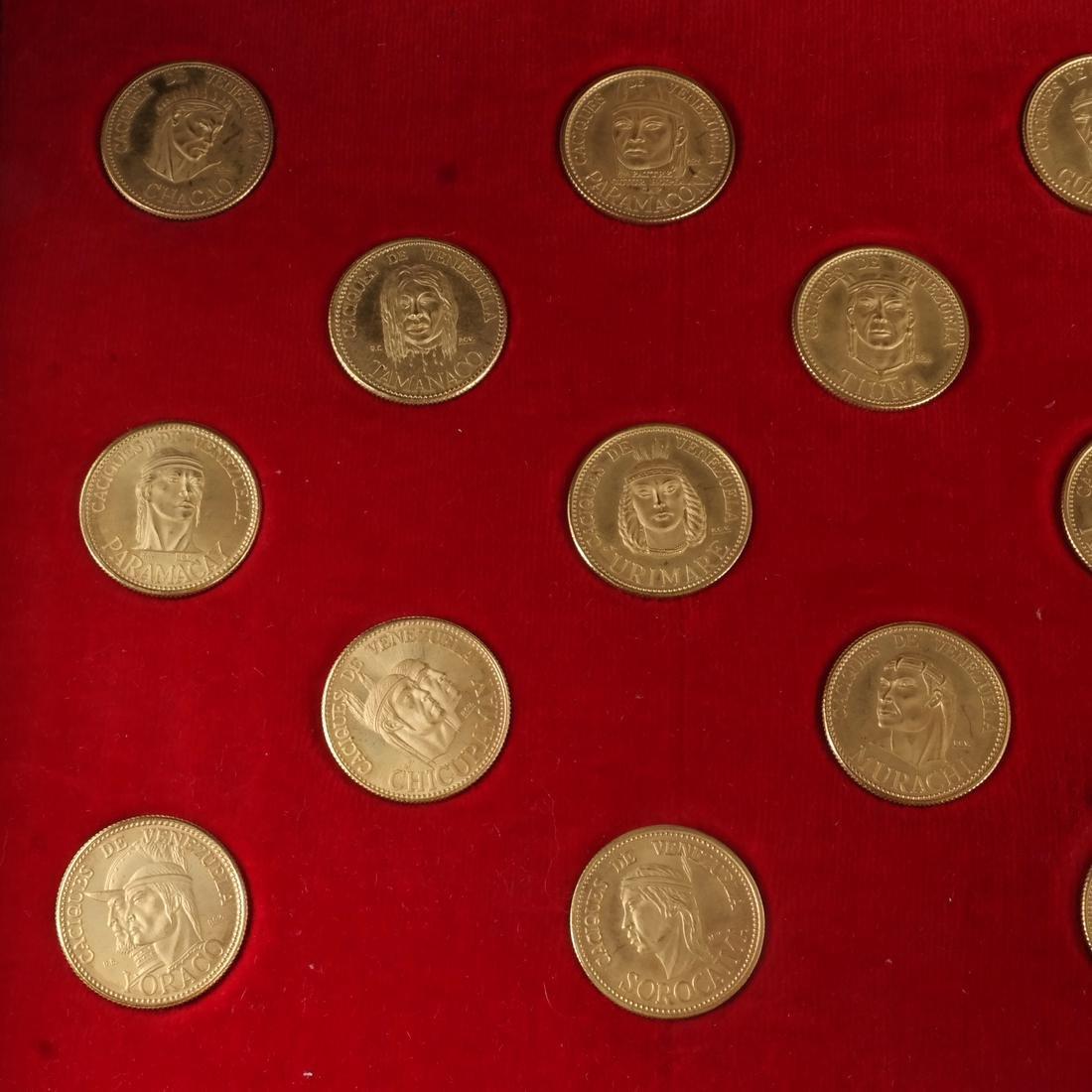 Venezuela Gold Set, 18 Coins, 1957 - 3