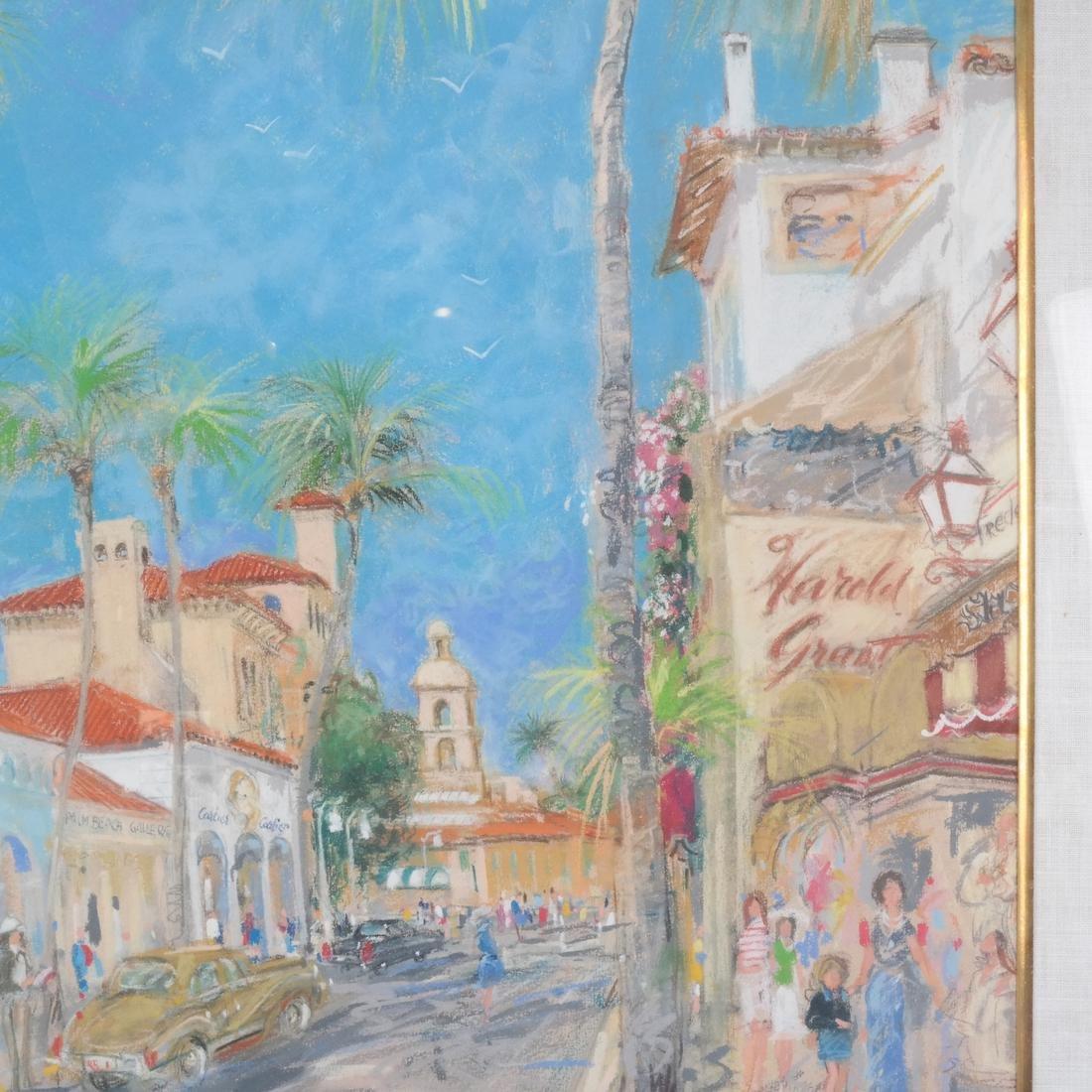 Kamil Kubik: Street Scene, Pastel - 4