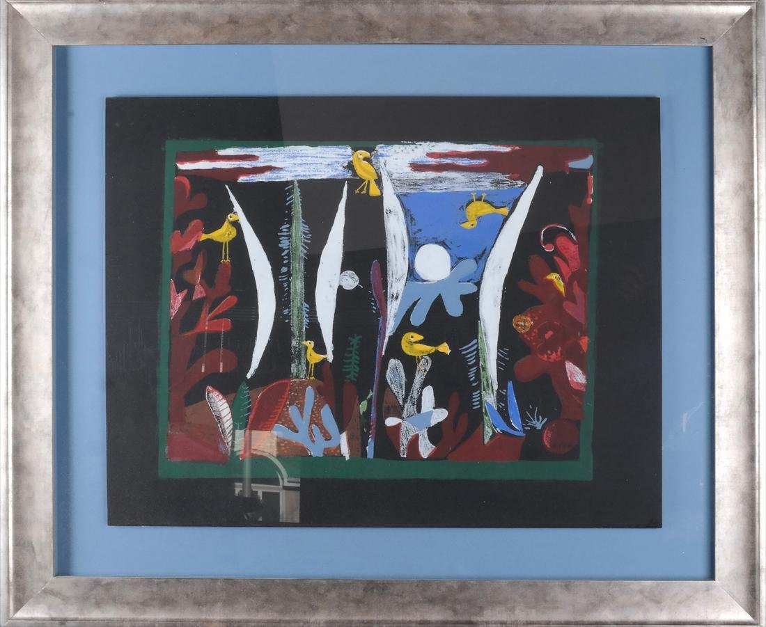 Paul Klee: Birds, Abstract Lithograph - 2