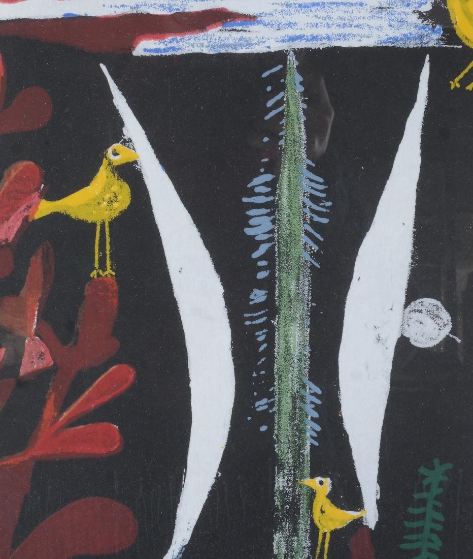 Paul Klee: Birds, Abstract Lithograph - 3