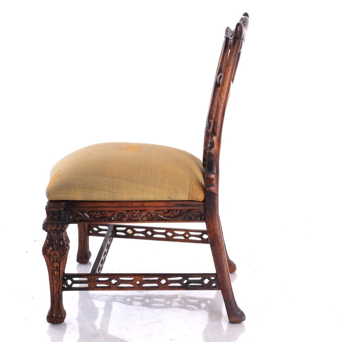 Miniature English Chippendale-Style Side Chair - 4