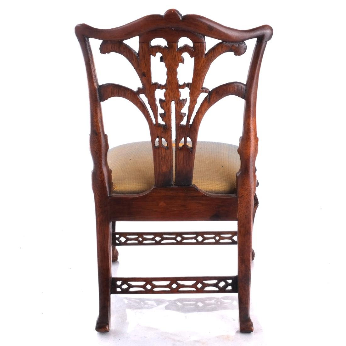Miniature English Chippendale-Style Side Chair - 5