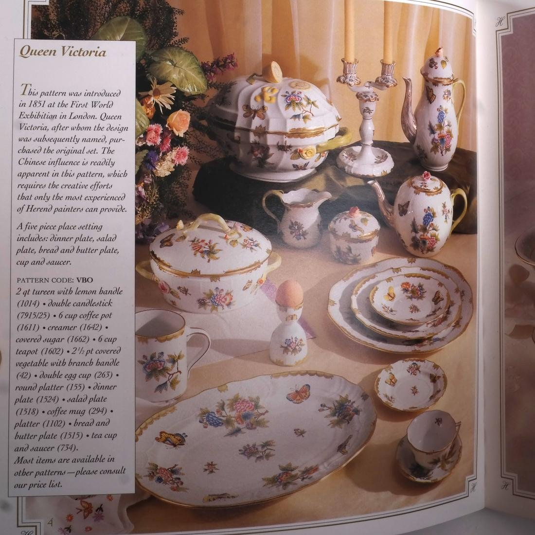 Herend Porcelain Table Articles - 6