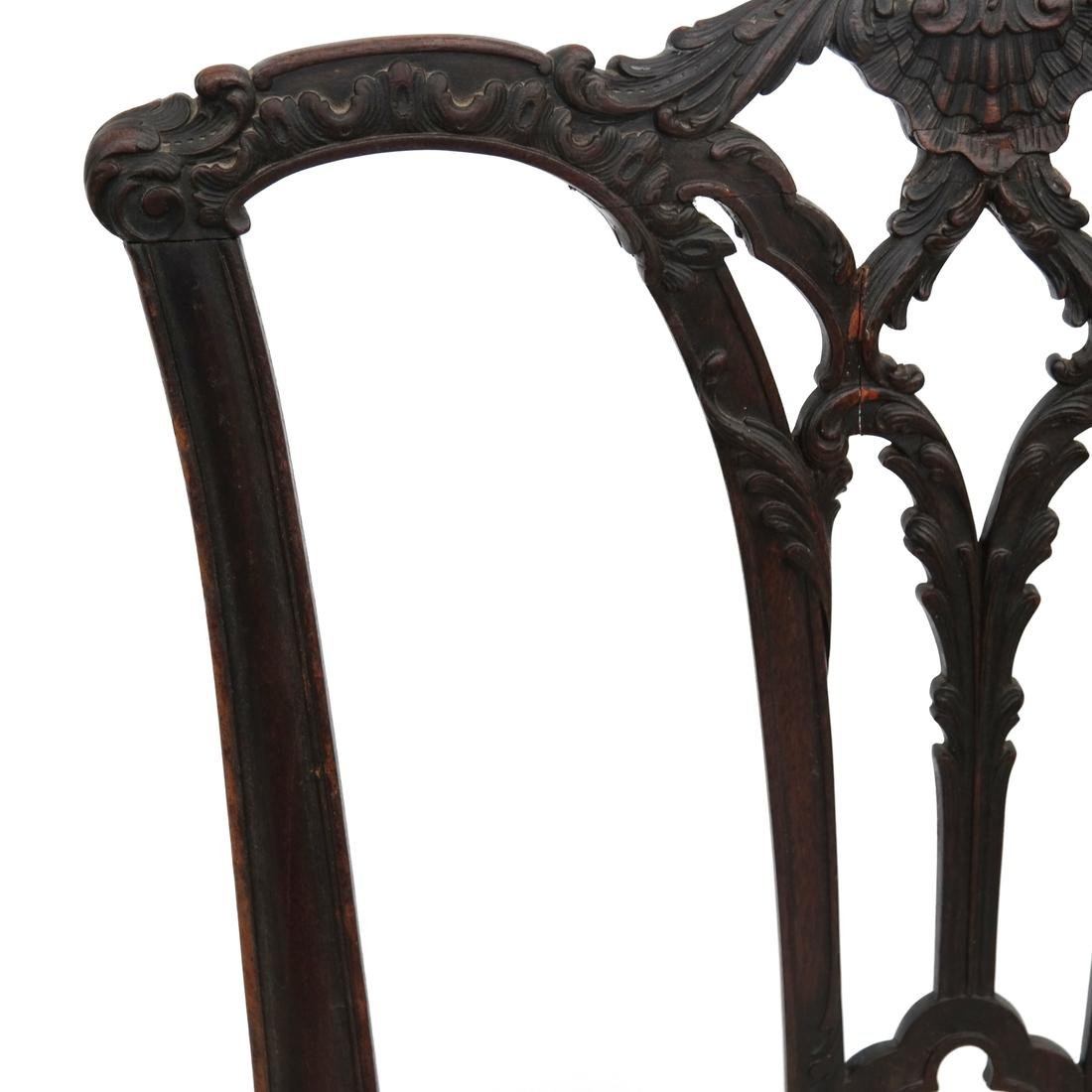 Pair of Antique American Side Chairs - 4