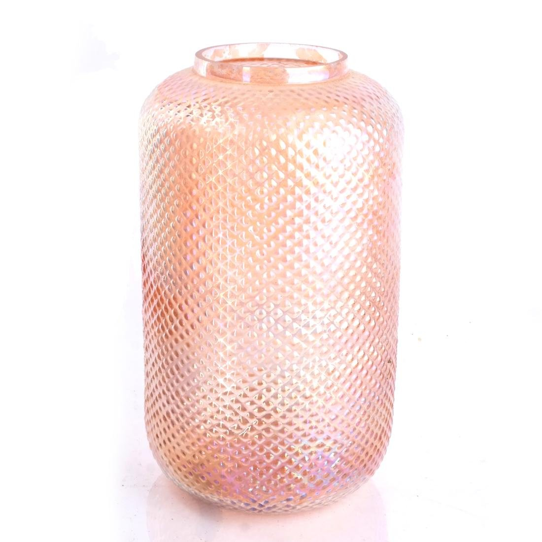 Pair of Depression Glass Vases - 2
