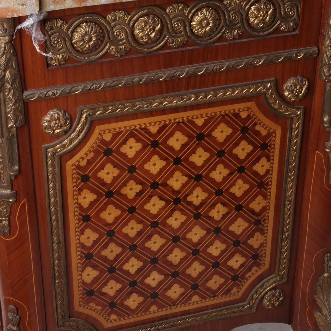 French-Style Marble-Top Commode - 6
