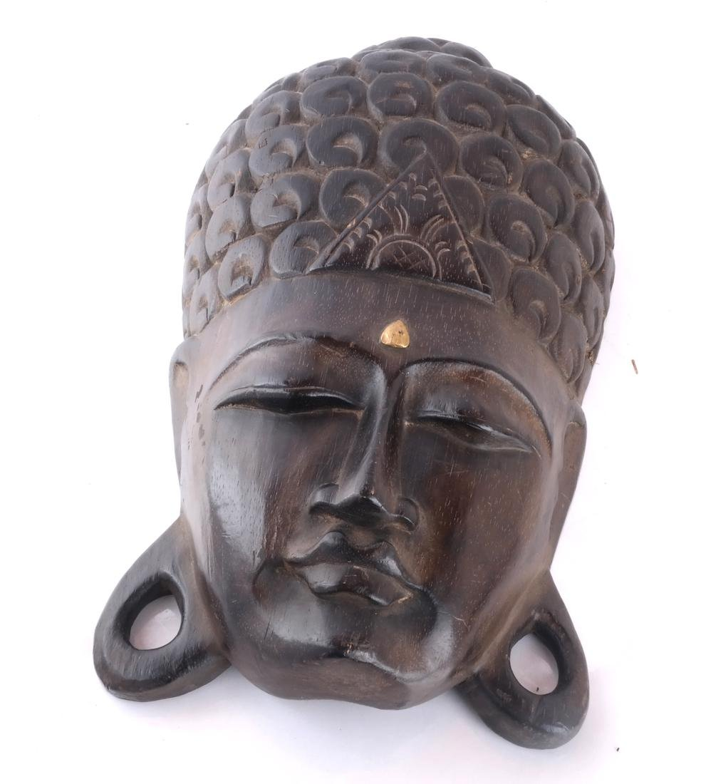 Indonesian Hand-Carved Mask