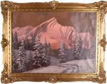 After Laszlo Neogrady: Mountainscape, O/C