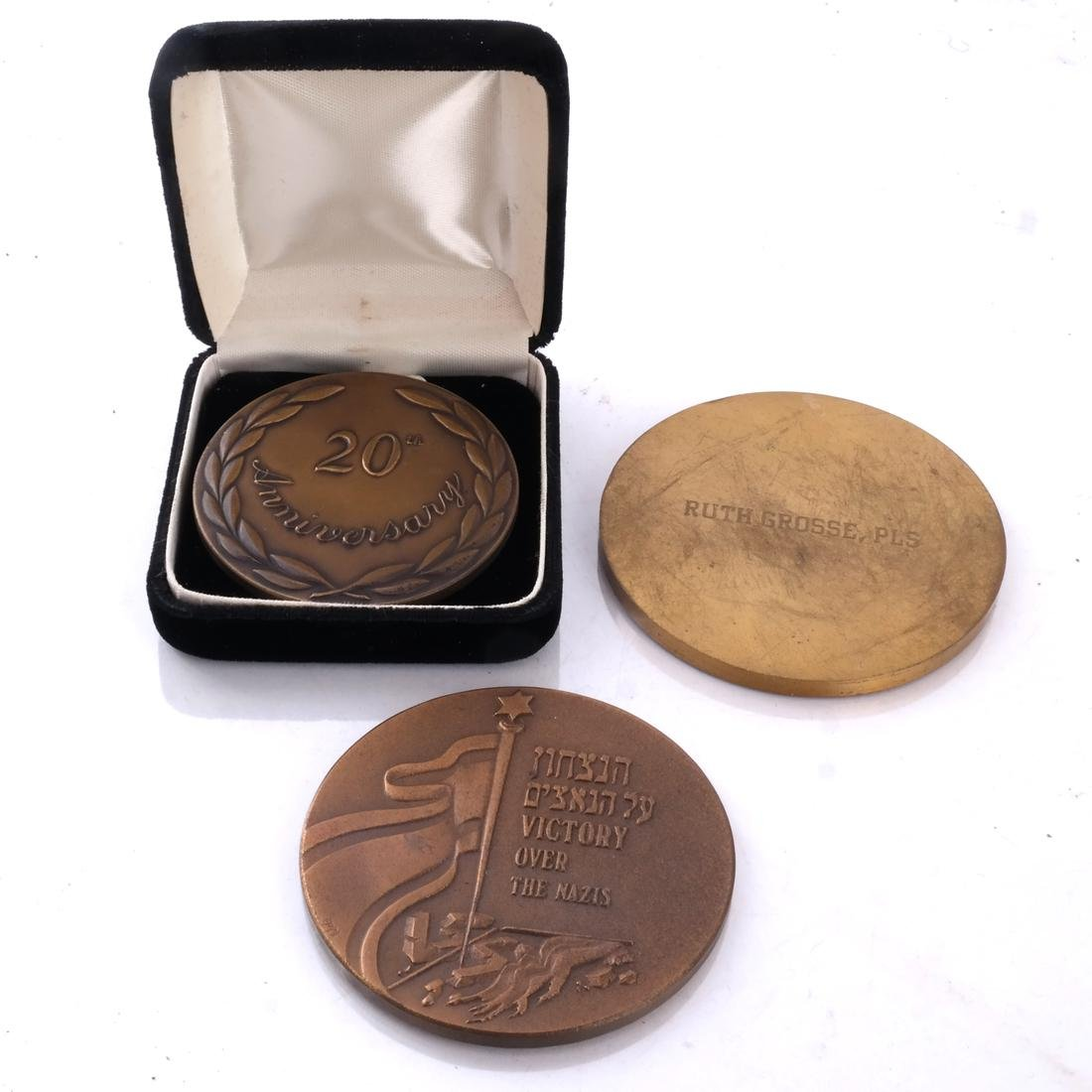 Seventeen Medals, Mostly Copper and Bronze - 3