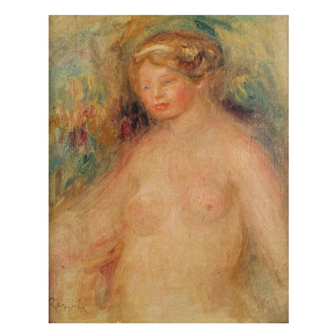 Pierre-Auguste Renoir (French, 1841-1919) O/C - 3